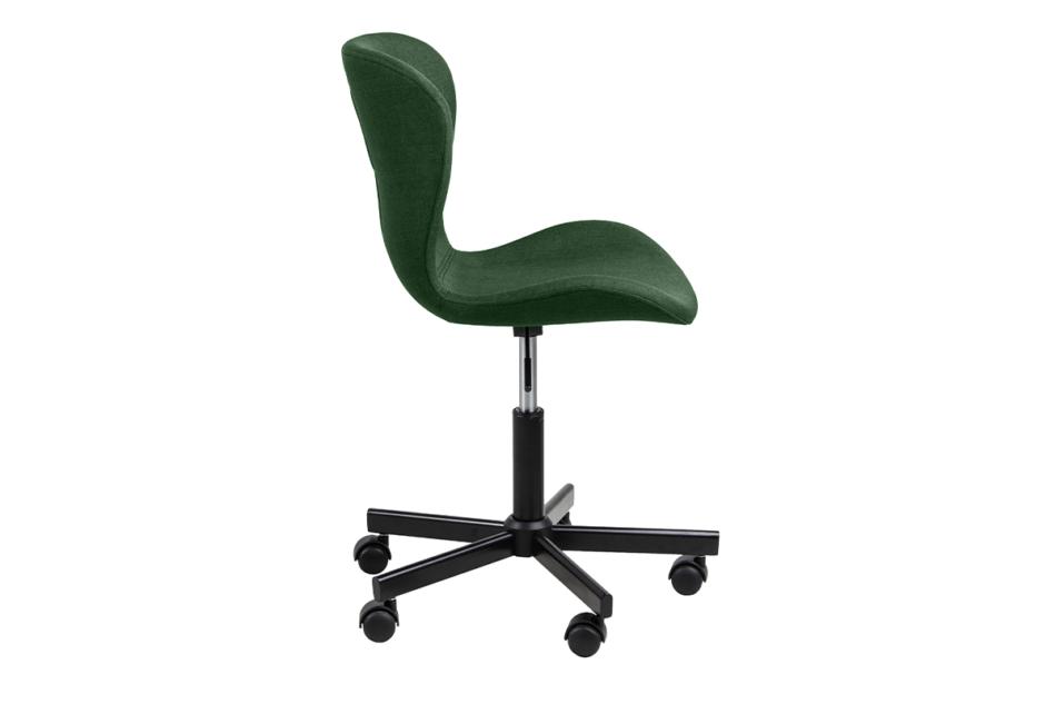 ROTIO Krzesło obrotowe tapicerowane zielone zielony - zdjęcie 4