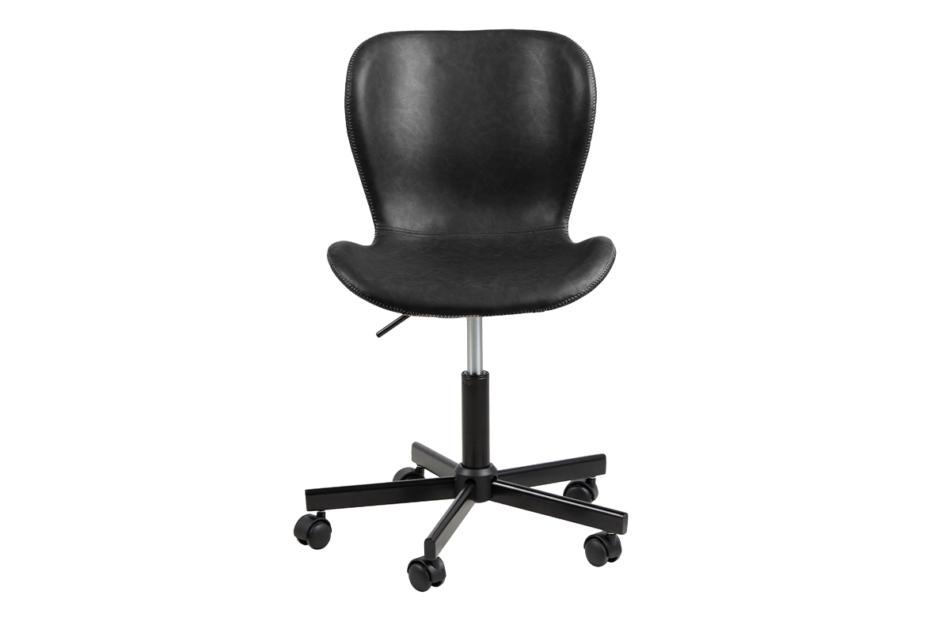 ROTIO Krzesło obrotowe czarne czarny - zdjęcie 0
