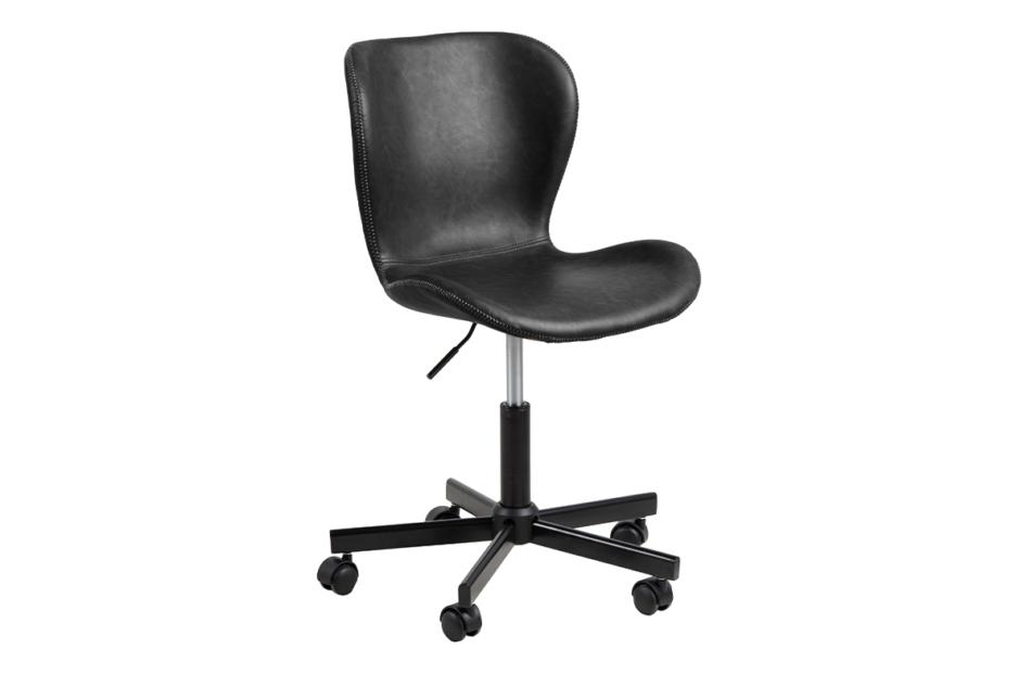ROTIO Krzesło obrotowe czarne czarny - zdjęcie 1