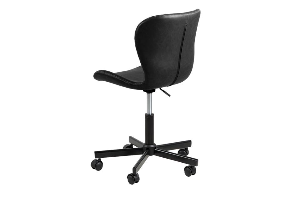 ROTIO Krzesło obrotowe czarne czarny - zdjęcie 2