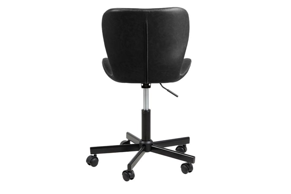 ROTIO Krzesło obrotowe czarne czarny - zdjęcie 3