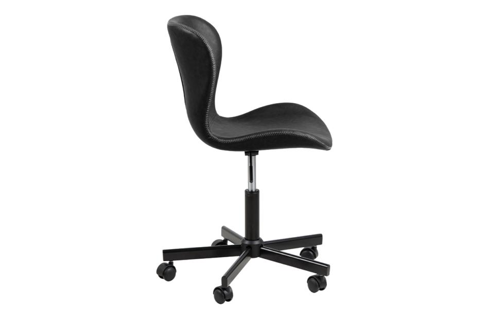 ROTIO Krzesło obrotowe czarne czarny - zdjęcie 4