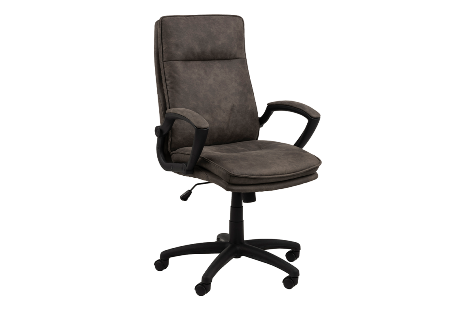 VILO Fotel obrotowy do biurka szary antracytowy - zdjęcie 2