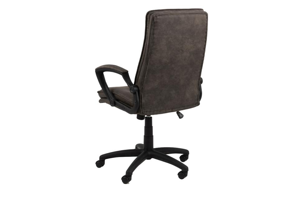 VILO Fotel obrotowy do biurka szary antracytowy - zdjęcie 3