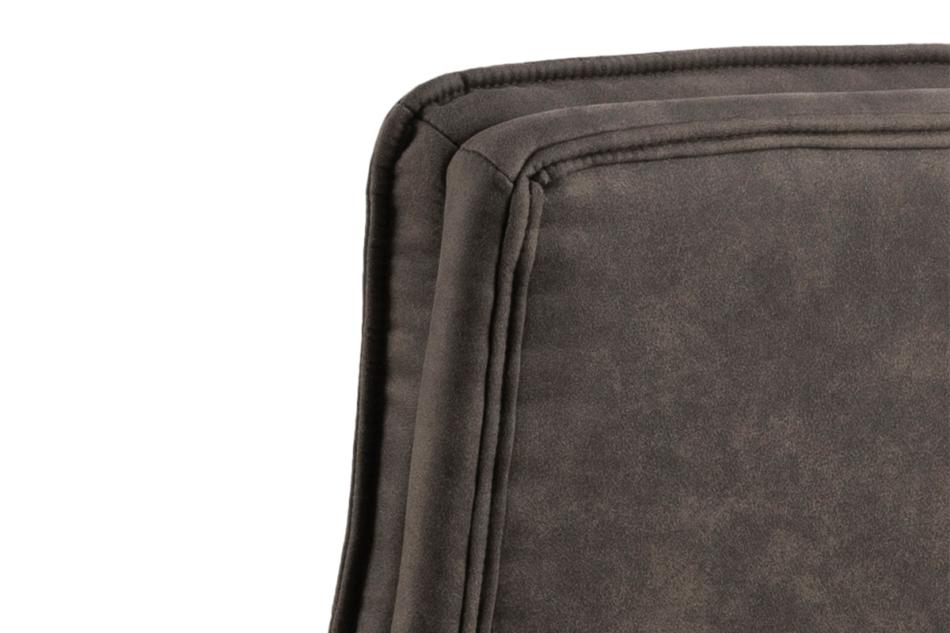 VILO Fotel obrotowy do biurka szary antracytowy - zdjęcie 5