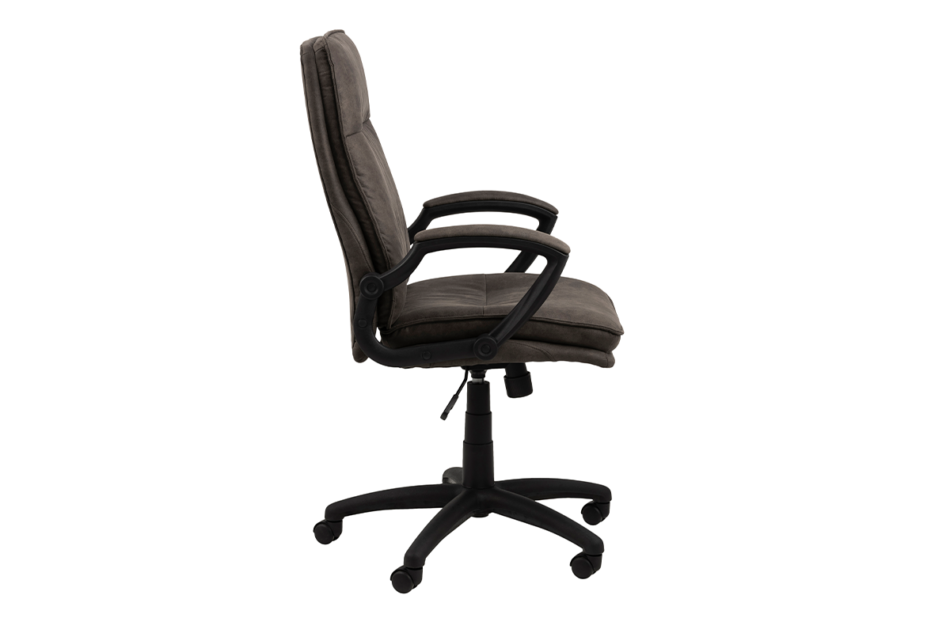 VILO Fotel obrotowy do biurka szary antracytowy - zdjęcie 7