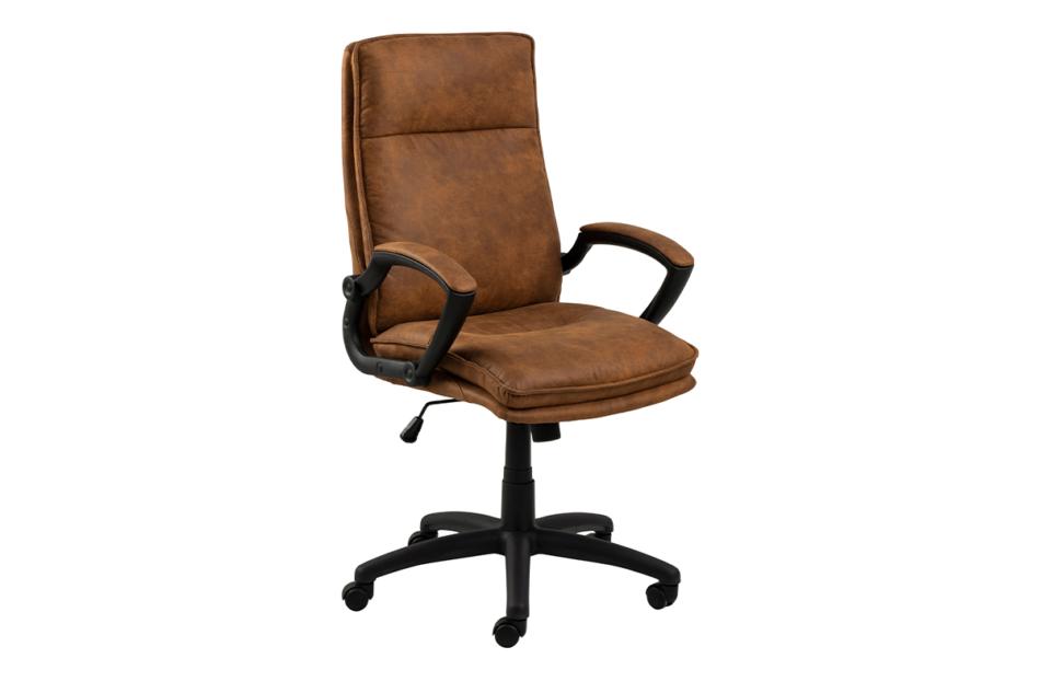 VILO Fotel obrotowy do biurka brązowy brązowy - zdjęcie 1