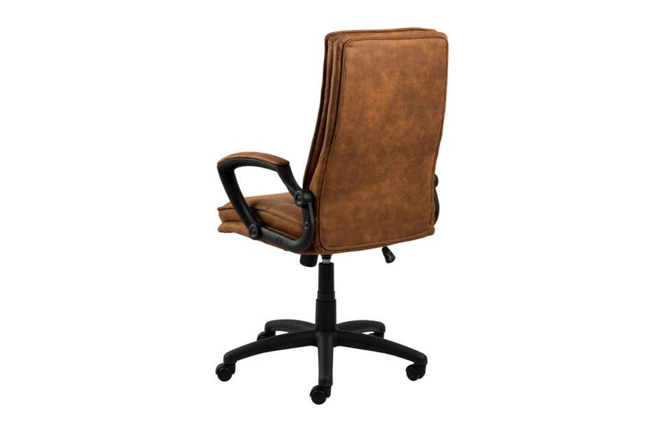 VILO Fotel obrotowy do biurka brązowy brązowy - zdjęcie 2