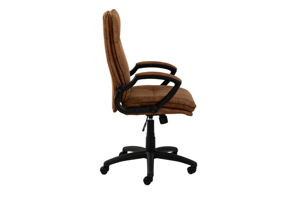 VILO Fotel obrotowy do biurka brązowy brązowy - zdjęcie 3