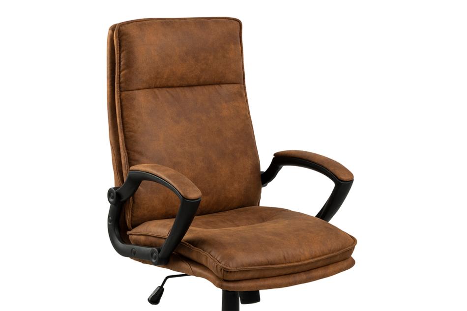 VILO Fotel obrotowy do biurka brązowy brązowy - zdjęcie 4