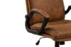VILO Fotel obrotowy do biurka brązowy brązowy - zdjęcie 8