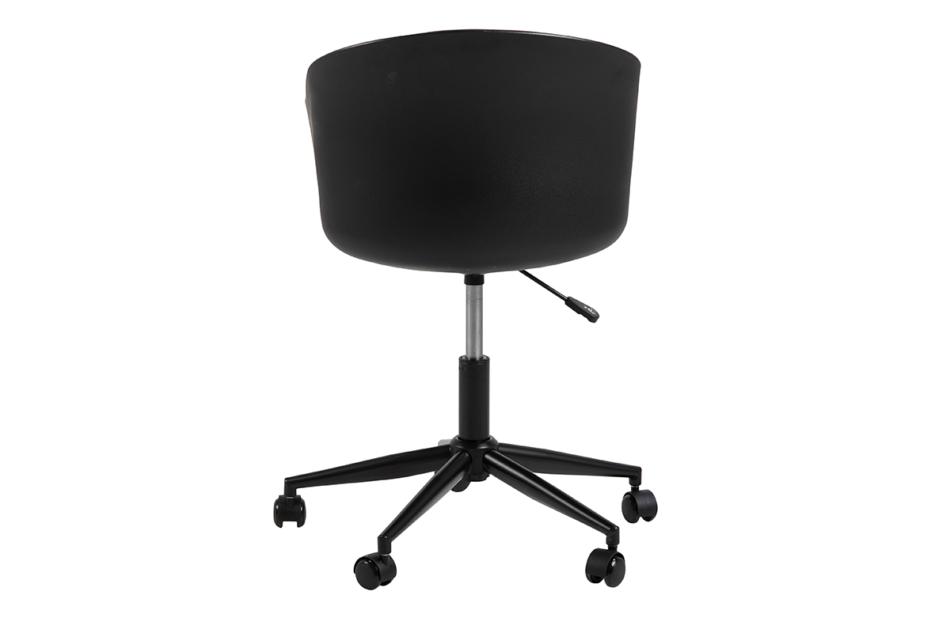 TROVIO Krzesło obrotowe do biurka czarne czarny/szary - zdjęcie 3