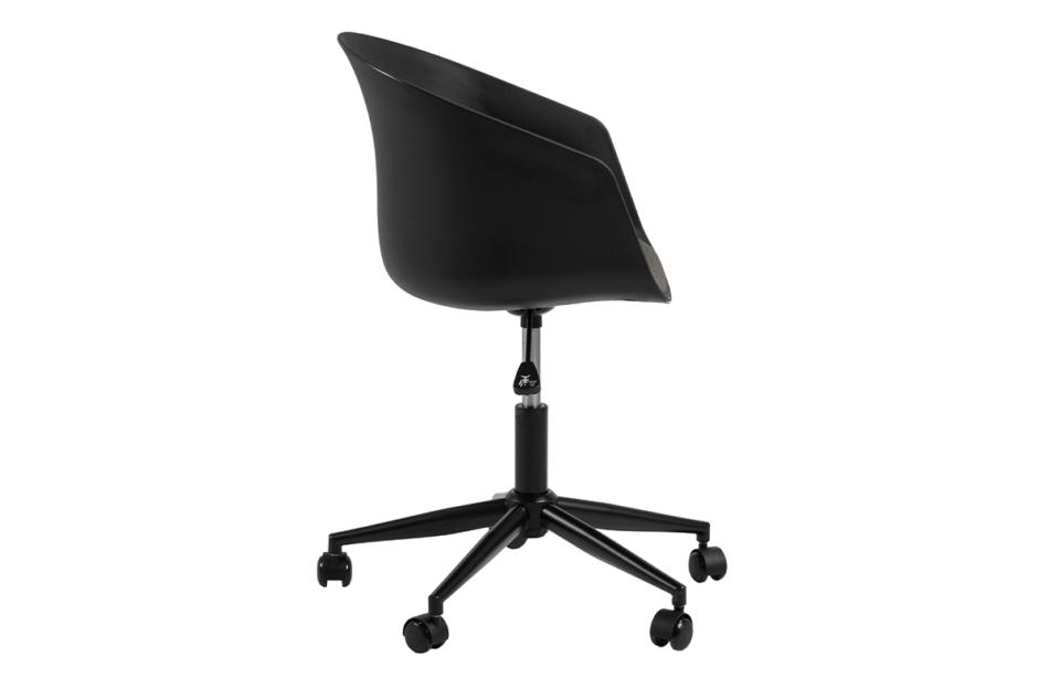 TROVIO Krzesło obrotowe do biurka czarne czarny/szary - zdjęcie 6