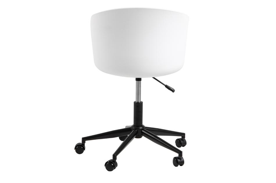 TROVIO Krzesło obrotowe do biurka białe biały/szary - zdjęcie 3