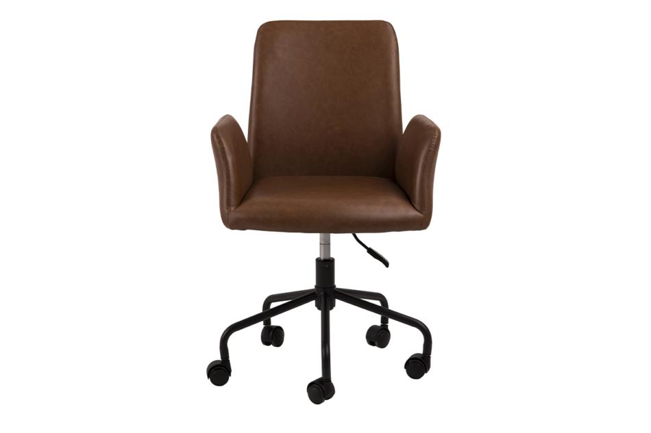 RAIMO Fotel obrotowy do biurka brązowy brązowy - zdjęcie 0
