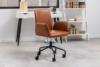 RAIMO Fotel obrotowy do biurka brązowy brązowy - zdjęcie 11