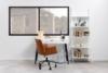 RAIMO Fotel obrotowy do biurka brązowy brązowy - zdjęcie 2