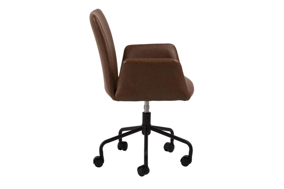 RAIMO Fotel obrotowy do biurka brązowy brązowy - zdjęcie 4