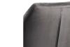 NOLO Fotel obrotowy welurowy szary szary - zdjęcie 6
