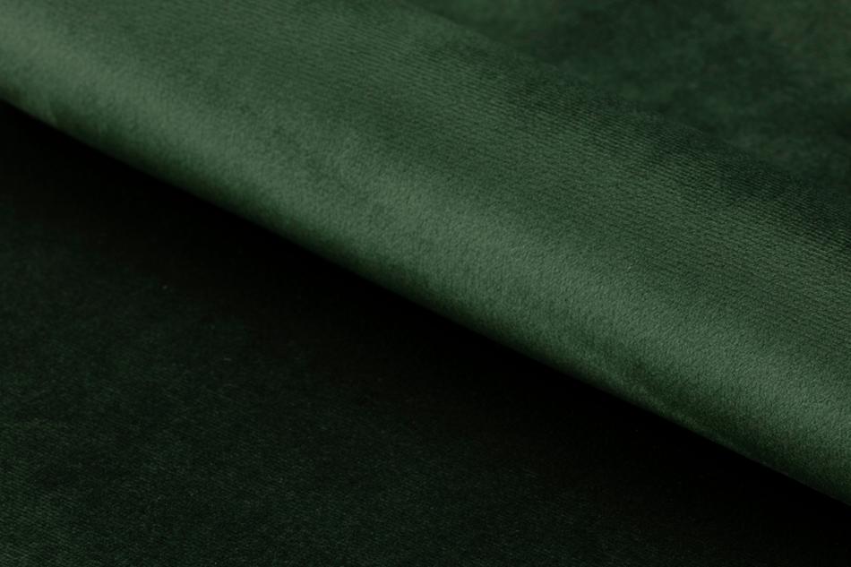 NOLO Fotel obrotowy welurowy butelkowa zieleń ciemny zielony - zdjęcie 9