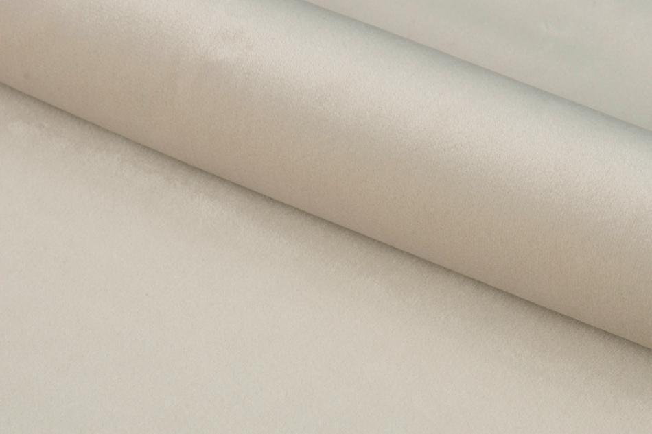 NOLO Fotel obrotowy welurowy biały kremowy - zdjęcie 8