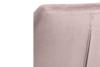 NOLO Fotel obrotowy welurowy różowy różowy - zdjęcie 6