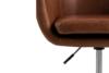 NOLO Fotel obrotowy ekoskóra brązowy brązowy - zdjęcie 6