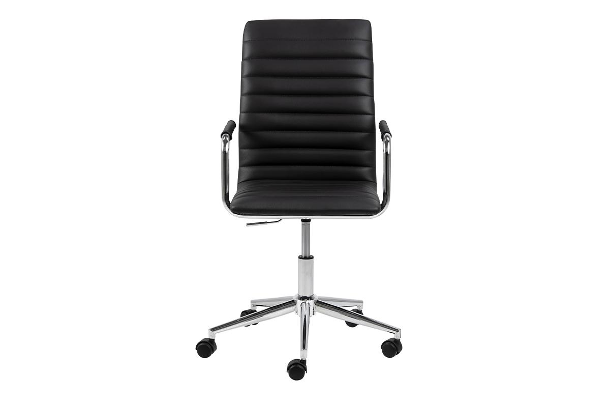Krzesło biurowe obrotowe czarne