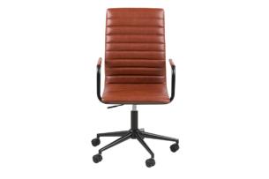 NESCO, https://konsimo.pl/kolekcja/nesco/ Krzesło biurowe obrotowe brązowe brązowy - zdjęcie