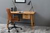NESCO Krzesło biurowe obrotowe brązowe brązowy - zdjęcie 2