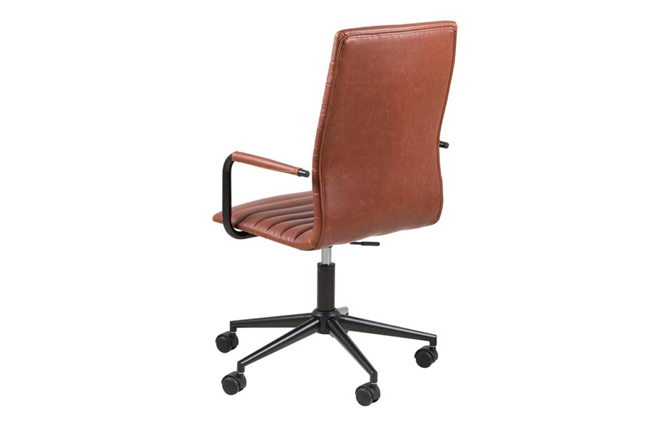 NESCO Krzesło biurowe obrotowe brązowe brązowy - zdjęcie 4