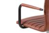 NESCO Krzesło biurowe obrotowe brązowe brązowy - zdjęcie 8
