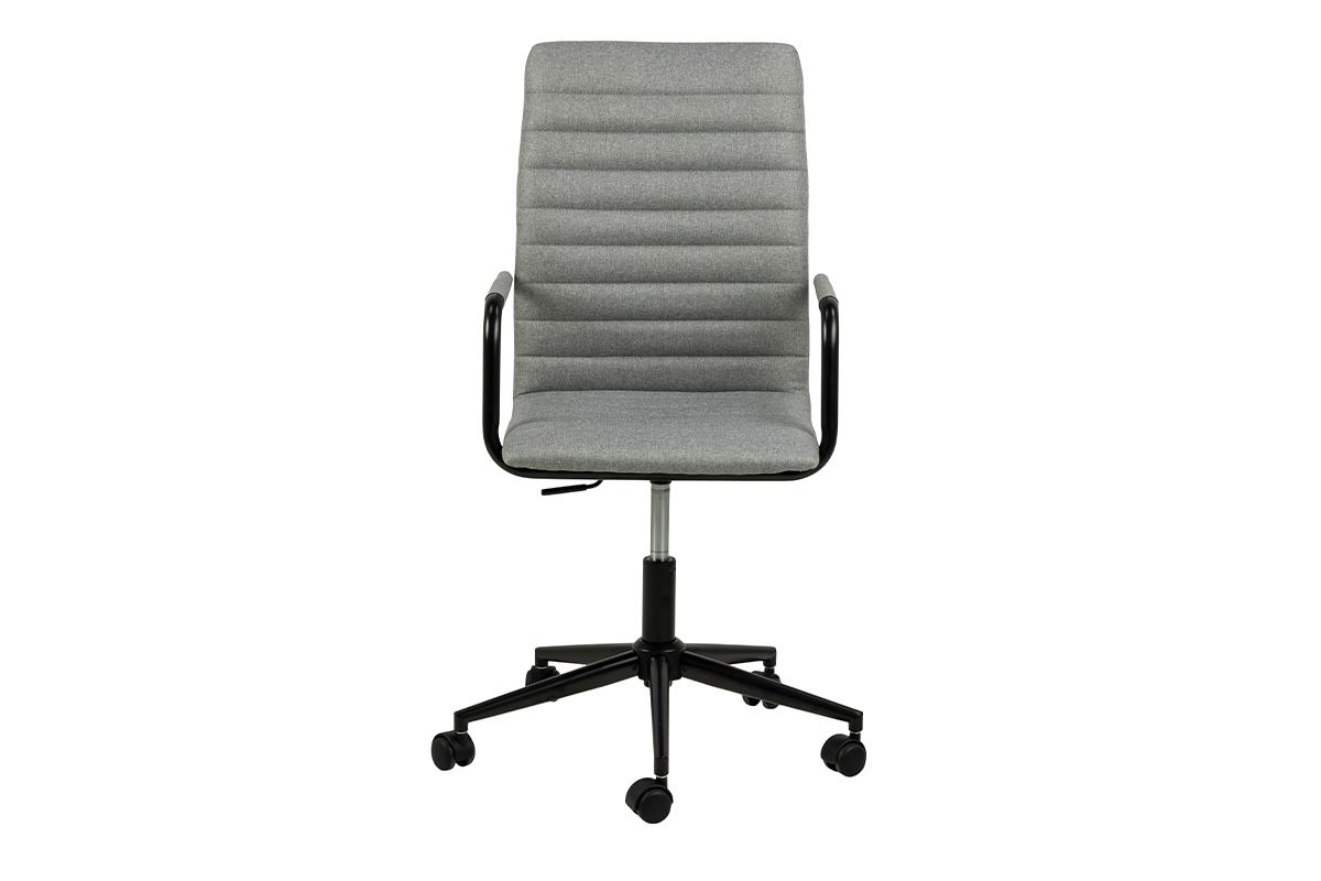 Krzesło biurowe obrotowe szare