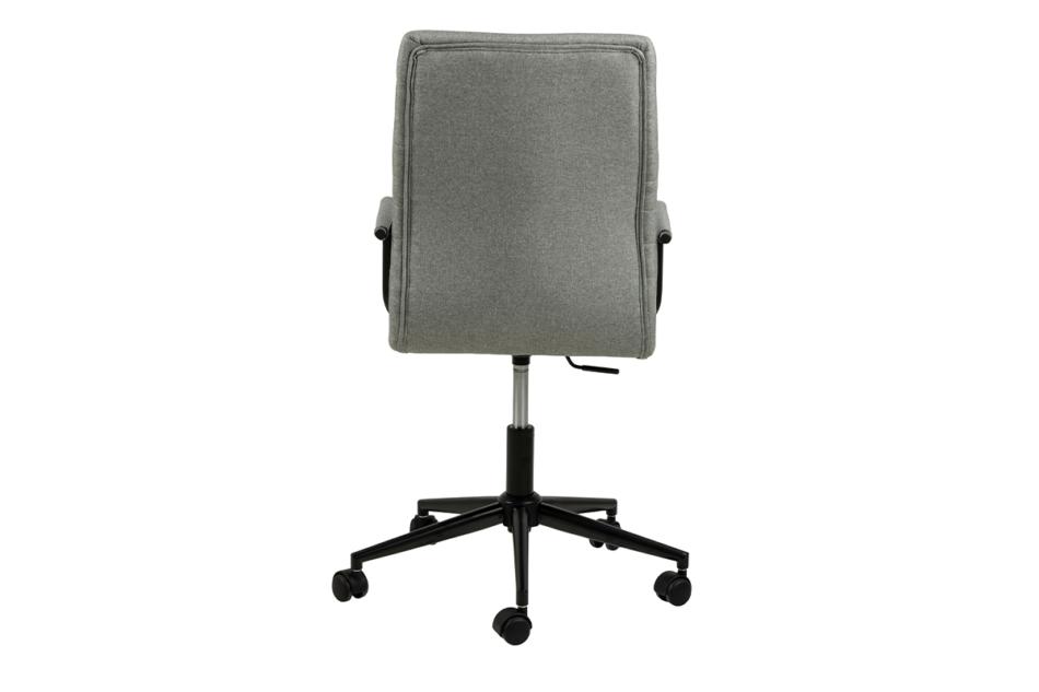 NESCO Krzesło biurowe obrotowe szare jasny szary - zdjęcie 2