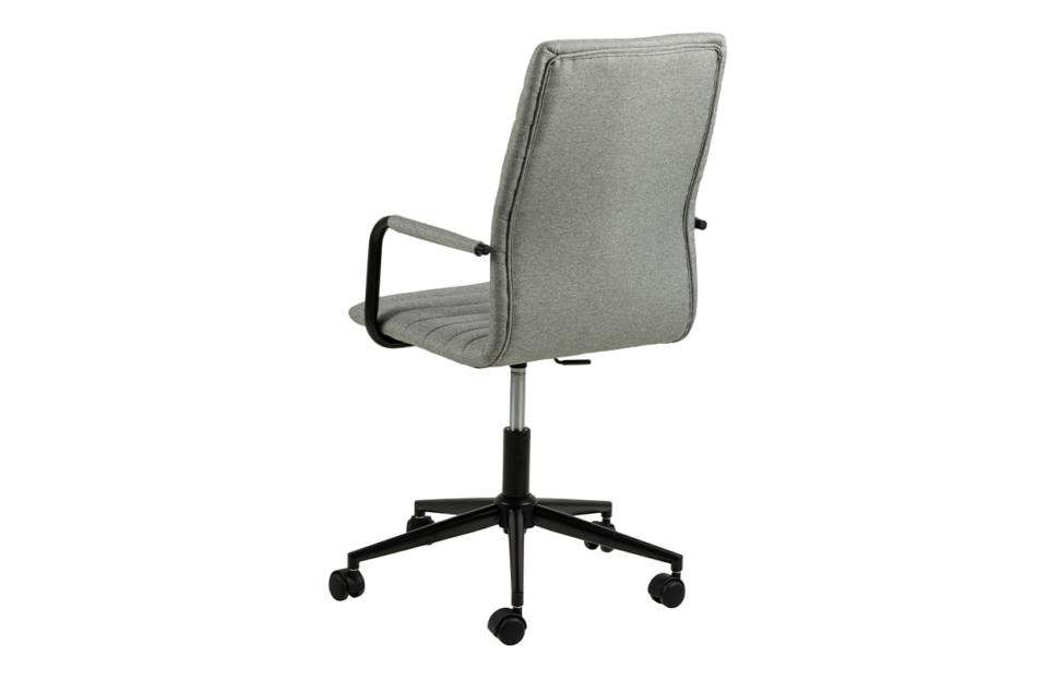 NESCO Krzesło biurowe obrotowe szare jasny szary - zdjęcie 3