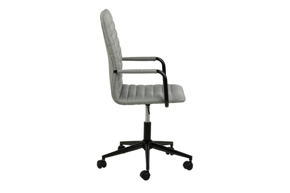 NESCO Krzesło biurowe obrotowe szare jasny szary - zdjęcie 4