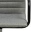 NESCO Krzesło biurowe obrotowe szare jasny szary - zdjęcie 7