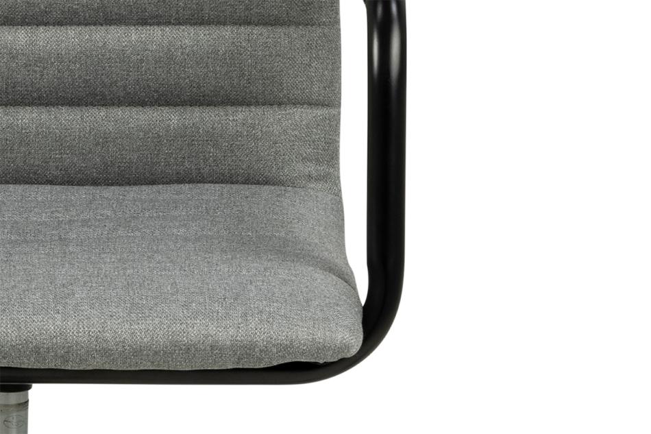 NESCO Krzesło biurowe obrotowe szare jasny szary - zdjęcie 6