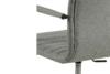 NESCO Krzesło biurowe obrotowe szare jasny szary - zdjęcie 9