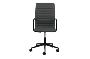 NESCO, https://konsimo.pl/kolekcja/nesco/ Krzesło biurowe obrotowe ciemno szare ciemny szary - zdjęcie