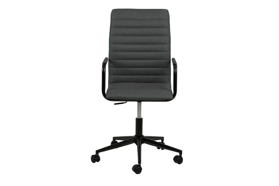 NESCO Krzesło biurowe obrotowe ciemno szare ciemny szary - zdjęcie 0