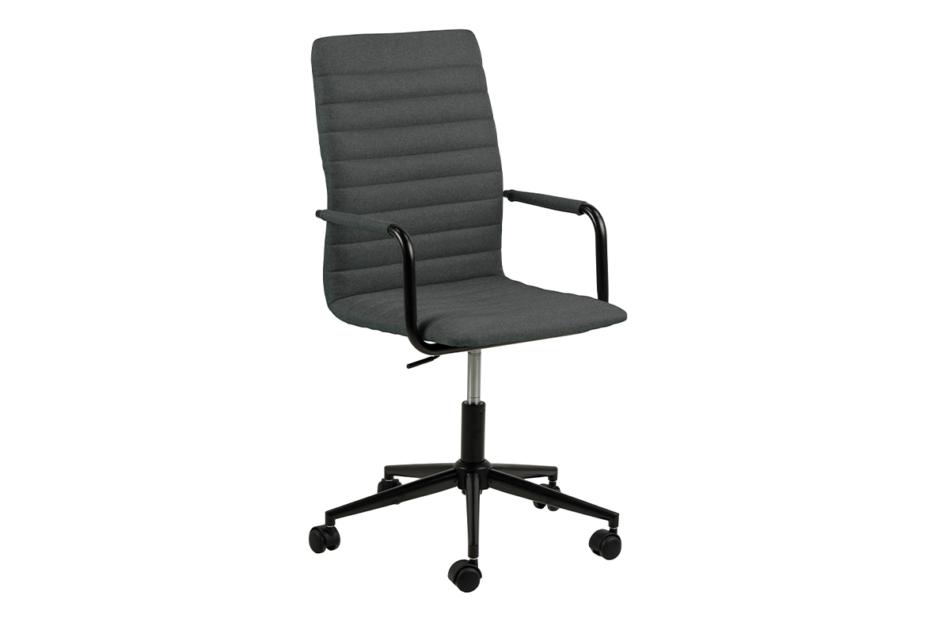 NESCO Krzesło biurowe obrotowe ciemno szare ciemny szary - zdjęcie 1
