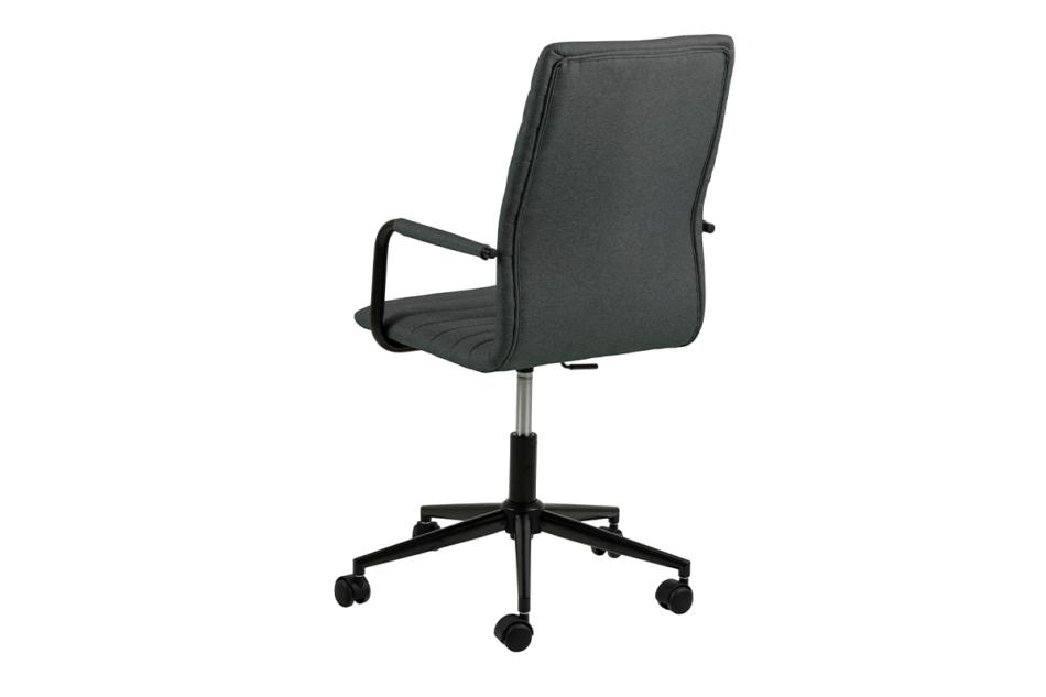 NESCO Krzesło biurowe obrotowe ciemno szare ciemny szary - zdjęcie 3