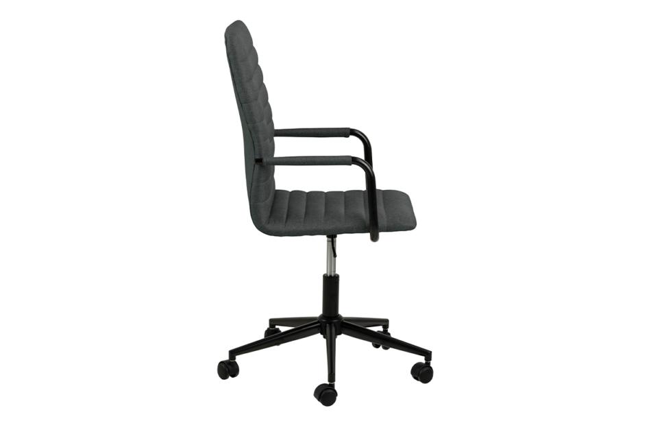 NESCO Krzesło biurowe obrotowe ciemno szare ciemny szary - zdjęcie 4