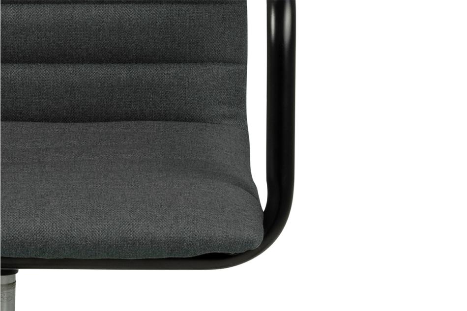NESCO Krzesło biurowe obrotowe ciemno szare ciemny szary - zdjęcie 5