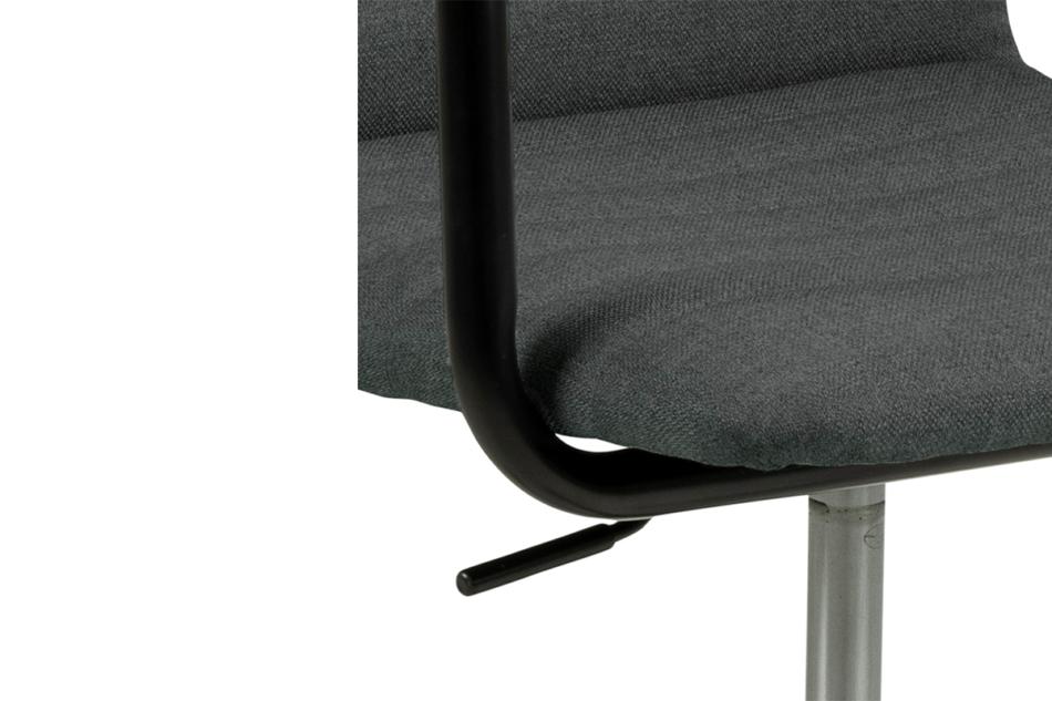 NESCO Krzesło biurowe obrotowe ciemno szare ciemny szary - zdjęcie 6