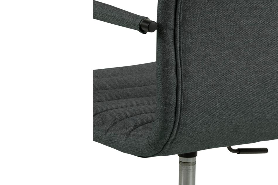 NESCO Krzesło biurowe obrotowe ciemno szare ciemny szary - zdjęcie 7