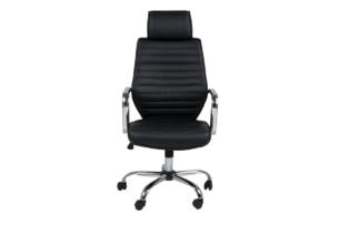 ARNOS, https://konsimo.pl/kolekcja/arnos/ Fotel biurowy obrotowy czarny czarny - zdjęcie