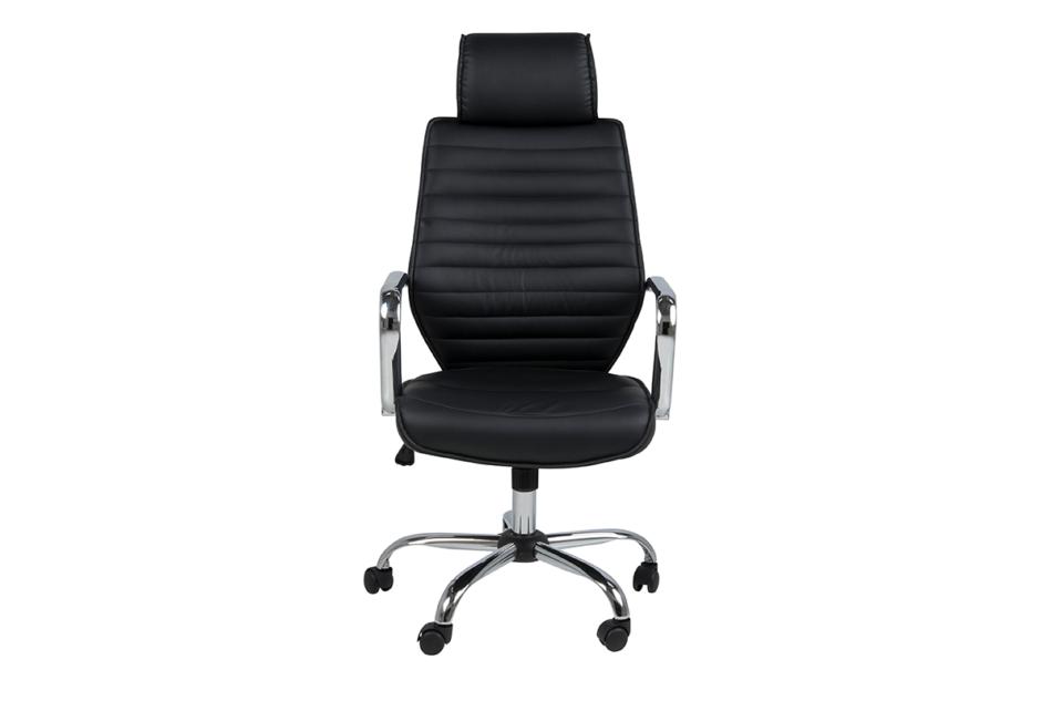 ARNOS Fotel biurowy obrotowy czarny czarny - zdjęcie 0