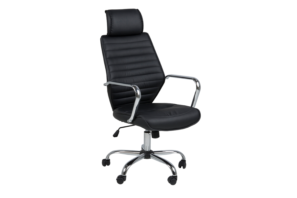 ARNOS Fotel biurowy obrotowy czarny czarny - zdjęcie 2